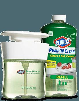 Clorox® Pump 'N Clean™ Kitchen & Dish Cleaner