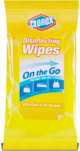 Go to Clorox® Disinfecting Wipes₃ On the Go