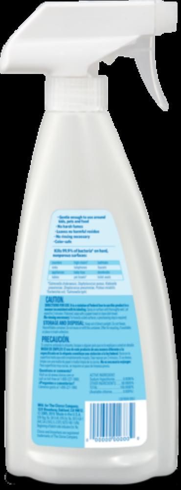 Hard Surface Sanitizer Spray | Clorox®