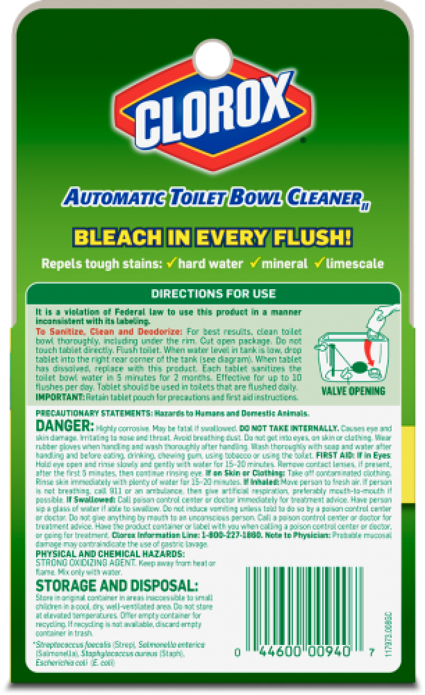 Toilet Cleaner with Bleach | Clorox®