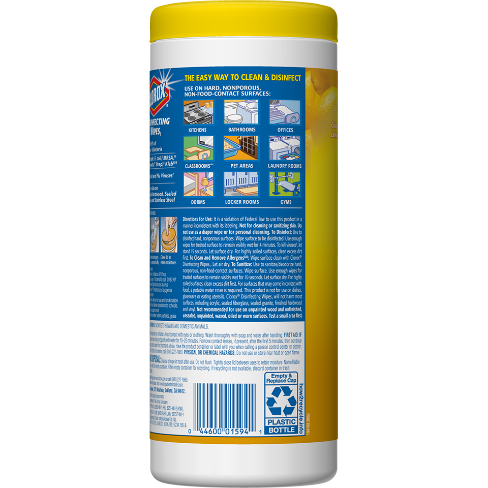 Disinfecting Wipes Multi-Surface Cleaning | Clorox®
