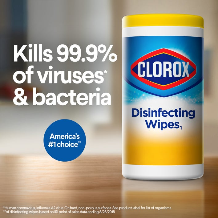 kills 99.9% of viruses and bacteria