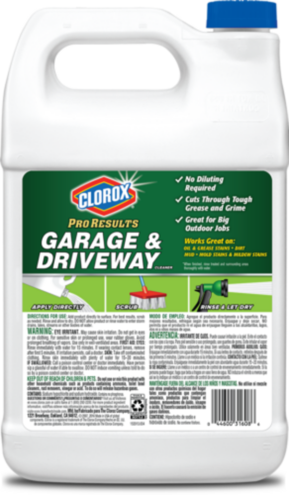 Clorox Proresults Garage Driveway Cleaner