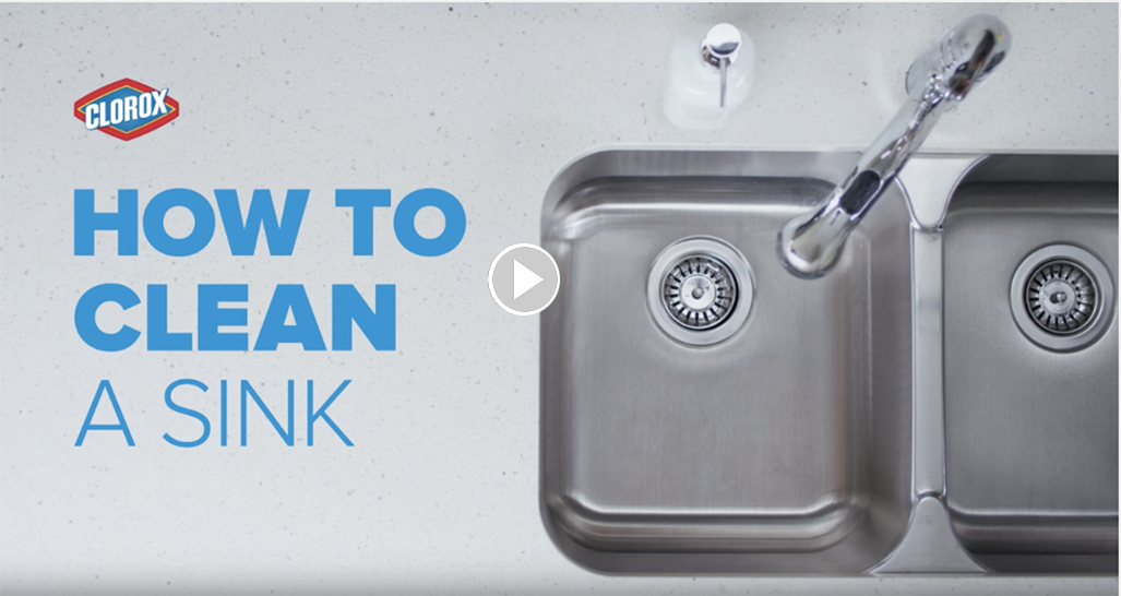 How To Clean The Sink Clorox