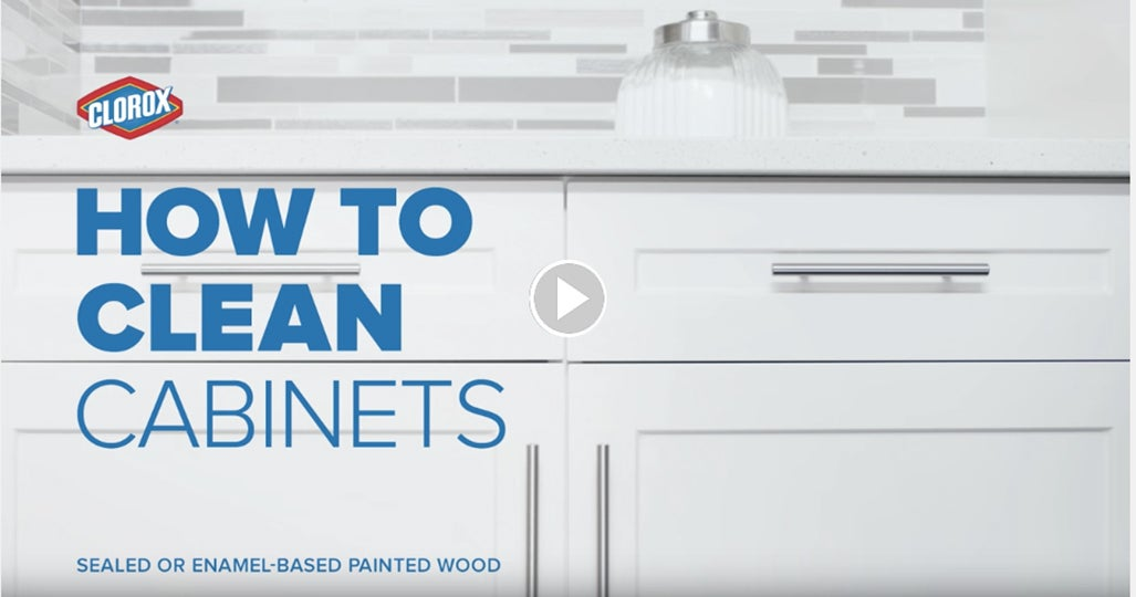 How To Clean A Kitchen how to clean kitchen cabinets | clorox