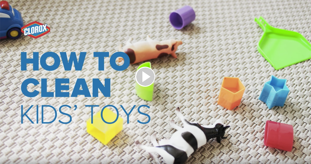 How to Clean Kids' Toys