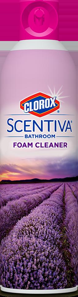 Clorox® Scentiva® Bathroom Foam Cleaner | Clorox®