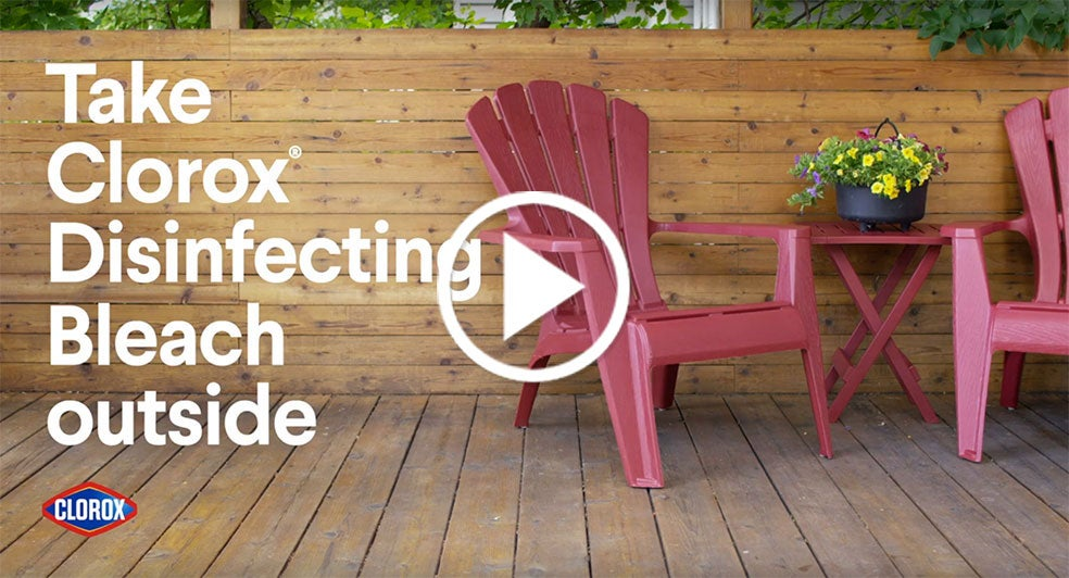 How To Disinfect Patio Furniture Clorox