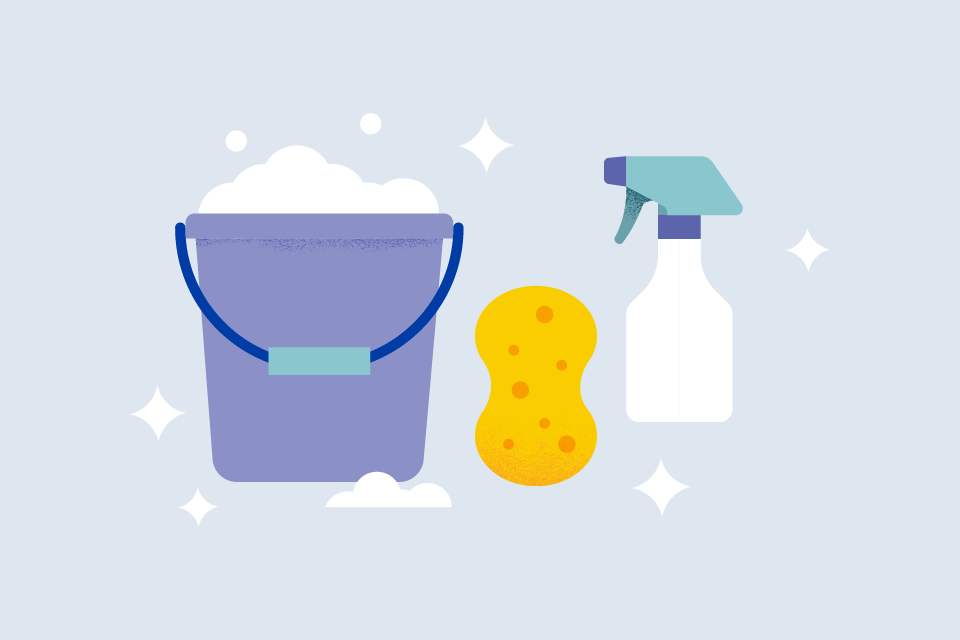 What's the difference between cleaning, sanitizing and disinfecting?