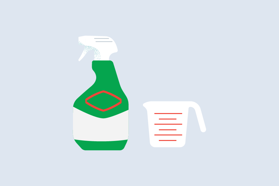 How to Make Your Own Disinfecting Solution with Clorox<sup>®</sup> Clean-Up<sup>®</sup> Cleaner + Bleach